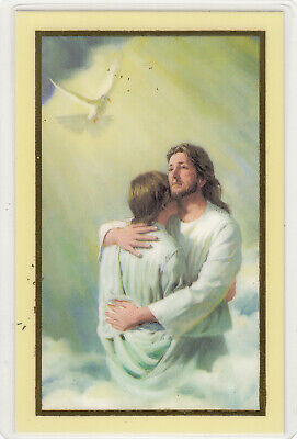 Art Of Contrition, Laminated Prayer Card, 110 x 70mm, Holy Card