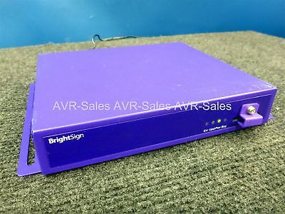 Brightsign HD210 Digital Sign Driver w/AC Adapter VGA HDMI Analog Fully Tested!