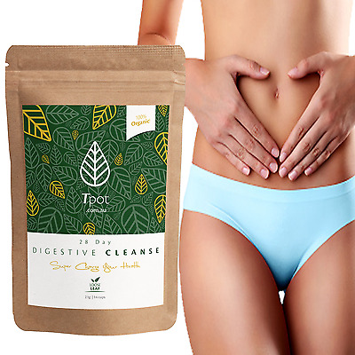 Detox Tea Digestive Cleanse 28 Day - Skinny Tea Me - Weight Loss - Detox TeaTox