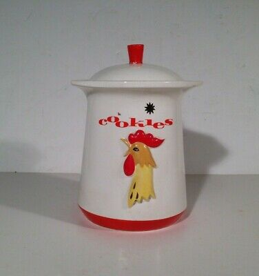Vintage 1961 Holt Howard Rooster Cookie Jar - Grant Howard