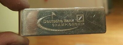 Tiffany & Co. Sterling Silver 925 Deutsche Bank Championship Money Clip 2008