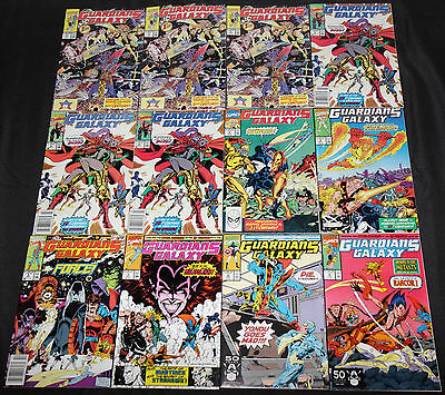 Marvel Copper-Modern GUARDIANS OF THE GALAXY 24pc High Grade Comic Lot VF to NM