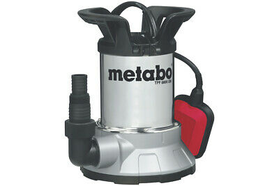 Metabo Flat Absorbent Clear Water Submersible Pump Tpf 6600 Sn 0250660006 Carton