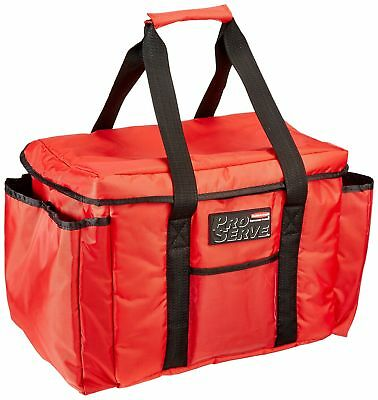Rubbermaid Commercial ProServe Insulated Sandwich Delivery Bag Red FG9F4000RED