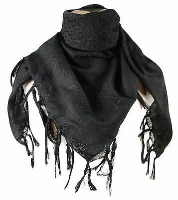 Tapp Collections Premium Shemagh Head Neck Scarf Black/Camel
