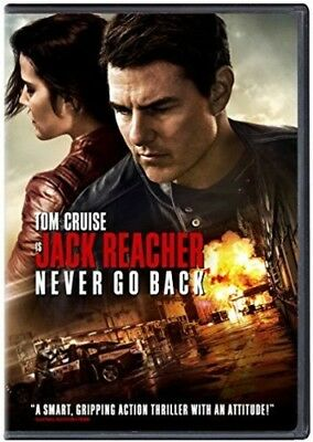 Jack Reacher: Never Go Back [New DVD] Ac-3/Dolby Digital, Dolby, Dubbed, Subti
