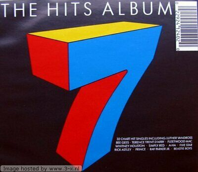 The Hits Album 7 -  CD 70VG The Cheap Fast Free Post The Cheap Fast Free Post