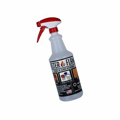 Master Flame - Fire Retardant - Spray on application or Mix with Paint - 1 Sp...