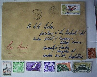 Niger Airmail Cover And Stamps