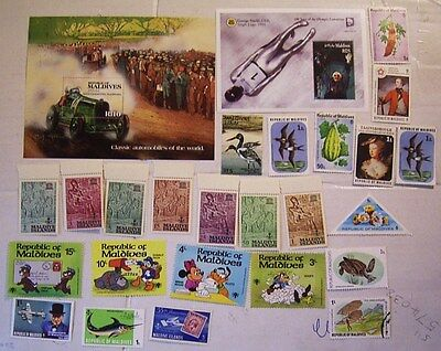 Maldive Islands Mint Miniature Sheets   Mint And Used Stamps
