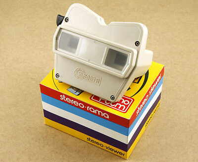 Lot of 2 Italian Techno Film Stereorama Viewers View-Master Alike New Old Stock