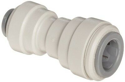 """John Guest Acetal Copolymer Tube Fitting, Reducing Straight Union, 5/16"""" x 1/4"""""""
