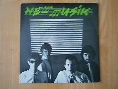 """New Musik - Straight Lines 7"""" Single Near Mint Condition"""