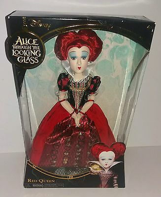 """Disney Alice Through The Looking Glass Red Queen 12"""" Doll Mib New"""