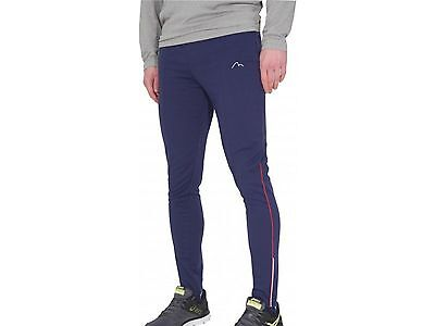 More Mile Roadster Mens Running Tracksters Pants Stirrup Bottoms Navy
