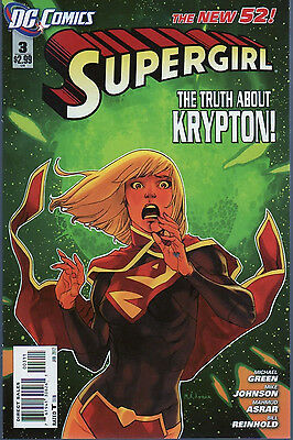 Supergirl #3 Dc The New 52  vf  Comic Book