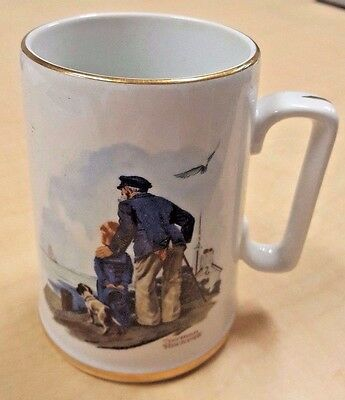 """Norman Rockwell's Seafarers Collection - Week 1 Tankard """"Looking Out To See"""""""
