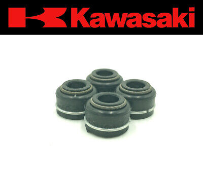 Set of (4) Intake & Exhaust Valve Stem Seals Kawasaki (See Fitment Chart)