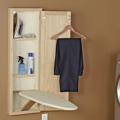 Household Essentials Stowaway In-Wall Ironing Board