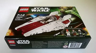 Lego Star Wars: A-Wing Starfighter 75003 - New And Sealed