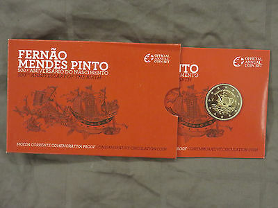 2 euro portugal 2011 mendes pinto PP BE PROOF