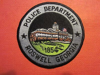 Collectible Georgia Police Patch Roswell New