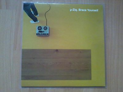 "µ-Ziq - Brace Yourself - 12"" Vinyl EP - UK 1998"