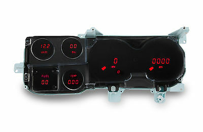 Chevy Truck DIGITAL DASH PANEL FOR 1973-1987 Gauges GMC Intellitronix RED LEDs!