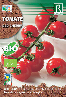Semillas ECOLOGICAS Tomate Cherry Red , Sobre 0.5 gr