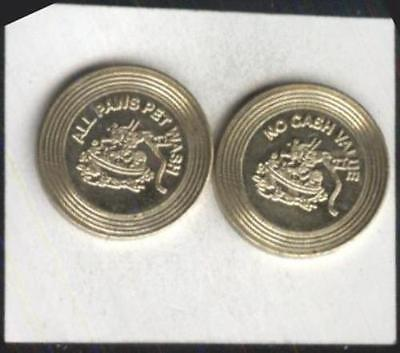 All Paws Pet Wash Token