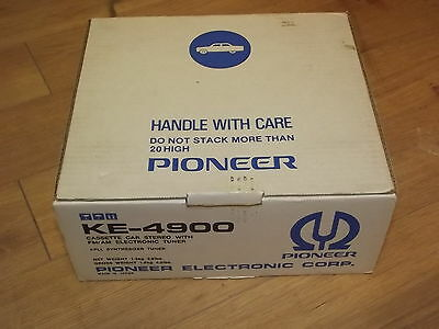 Pioneer KE-4900 Car Stereo Cassette player with Electronic FM AM tuner NEW n box