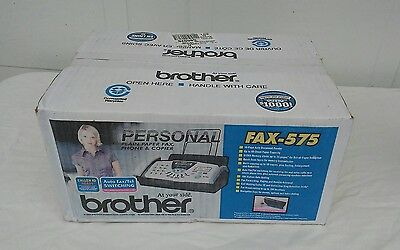 Brother FAX-575 Personal Plain Paper Fax, Phone & Copier