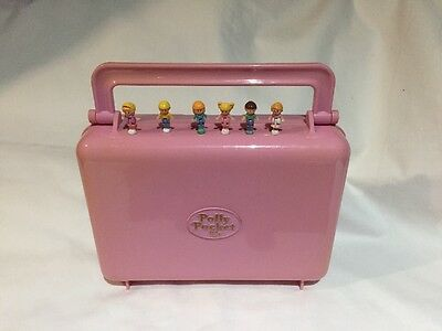 polly pocket 1989 Bowling Alley Cassette player   100% Complete RARE fully works