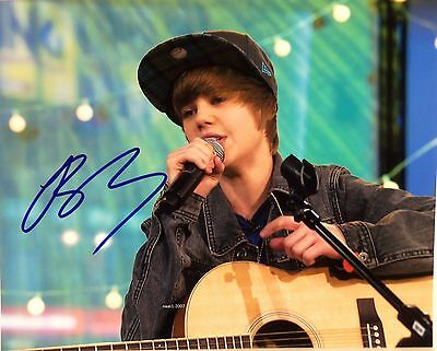 4x6 SIGNED AUTOGRAPH PHOTO PRINT OF JUSTIN BIEBER #44