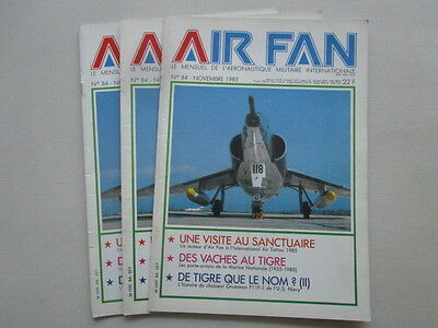 Air Fan 84 Iat Tatoo Chievres Porte-Avions Marine Nationale Grumman F11F-1 Tiger