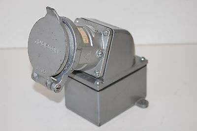 Russellstoll 8404 30A 480VAC Electrical Receptacle