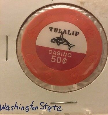 50 CENT     Casino CHIP    TULALIP CASINO    WA