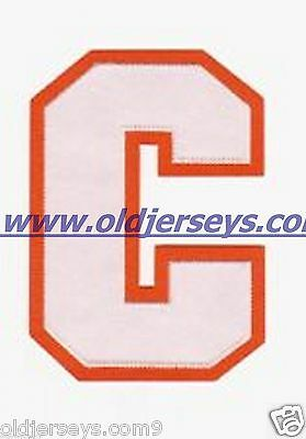 """Captain """"C"""" hockey letter TWILL stitched 2 Color"""