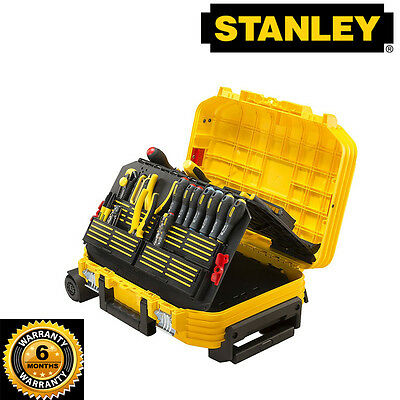 New Stanley FatMax  Tool Case - TECHNICIAN SUITCASE WITH TROLLEY  with warranty