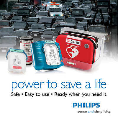 Philips HeartStart Home Defibrillator | Fast Free Shipping  Life-Saver Brand NEW