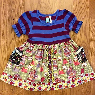 Matilda Jane HSP Character Counts Maggie At Tea Dress Size 2