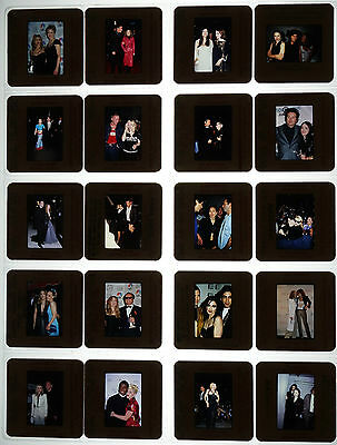 20 Random Color Photo Slide Pictures of Madonna w/ Other Celebs