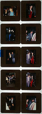 10 35mm Color Photo Slide Pictures of Madonna & Sean Penn - 1985, 1987, 1988