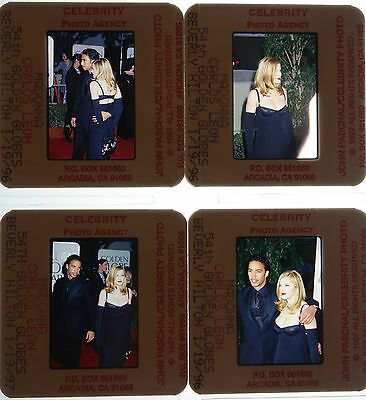 60 35mm Color Photo Slide Pictures of Madonna - 54th Golden Globes (John P Set)