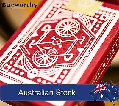 DKNG Red Wheel Playing Cards Deck by Art of Play Brand New & Sealed