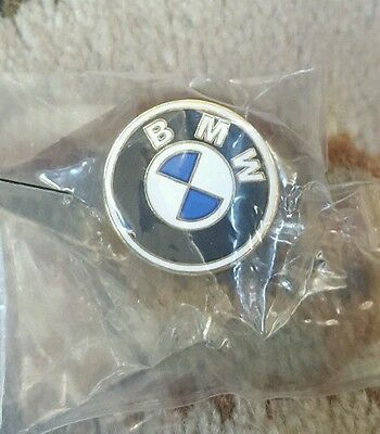 BMW CAR AUTOMOBILE  LAPEL HAT PIN BADGE  1 inch