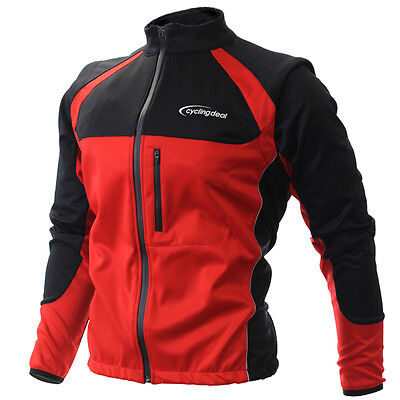 Cycling Bicycle Jersey Wind Rain Jacket Vest Red