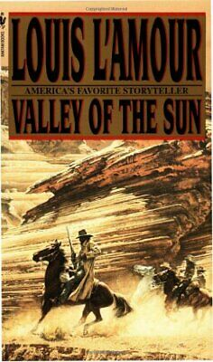 Valley Of The Sun by L'Amour, Louis Paperback Book The Cheap Fast Free Post