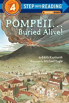 Pompeii...Buried Alive (Step into Reading) by Kunhardt, Edith Paperback Book The
