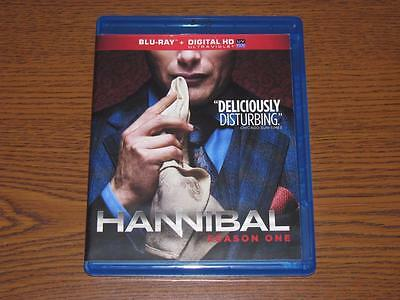 Hannibal: The Complete Season One (Blu-ray Disc, 2013, 3-Disc Set)